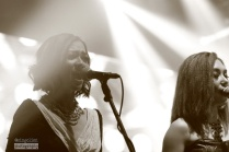 backing vocal untuk Melly di Mega Konser, 21 February 2016