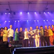 Seluruh artis pendukung konser Badai Pasti Berlalu